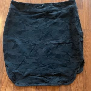 Lululemon camo city skirt